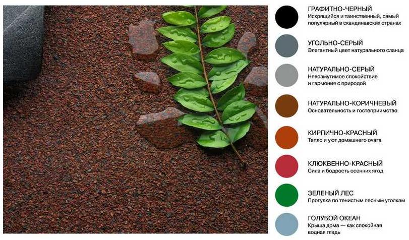 Фото: Цвета черепицы икопал, созданные самой природой