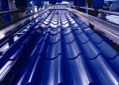 Фото: Оборудование для проката металлочерепицы