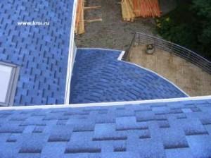 Фото: Крыша из гибкой черепицы Katepal