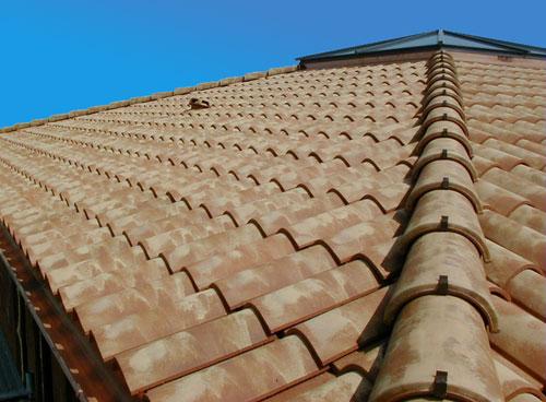 Фото: Крыша из керамической черепицы