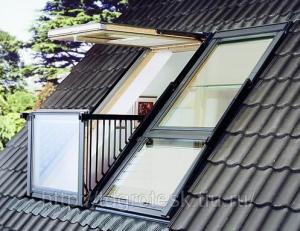 Фото: Зачем на крыше дома делают мансардные окна