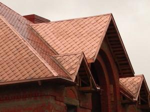Фото: Кровля из меди (медная крыша)