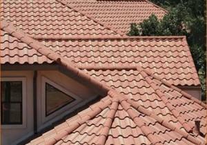 Фото: Крыша из натуральной черепицы