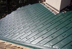 Фото: Снегозащита на крыше