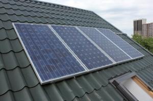 Фото: Солнечные батареи на крыше