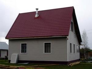 Фото: Обыкновенная скатная крыша