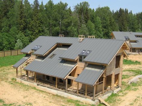 Фото: Скатная крыша